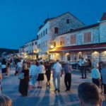 Holiday House Oleas Stari Grad Hvar promenade impressions for your vacation in Croatia